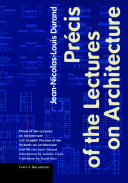 Pdf Précis of the Lectures on Architecture Telecharger