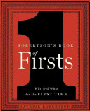 Robertson s Book of Firsts Book