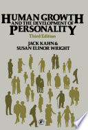 Human Growth And The Development Of Personality Book PDF