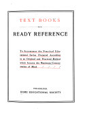 Text Books for Ready Reference