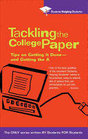 Tackling the College Paper Book