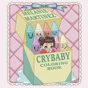 Cry Baby Coloring Book banner backdrop