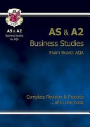 As/A2 Level Business Studies Aqa Revision Guide