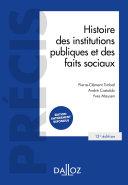 Histoire des institutions publiques et des faits sociaux - 13e ed. Pdf/ePub eBook