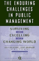 The Enduring Challenges in Public Management