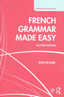 French Grammar Made Easy