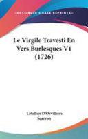 Le Virgile Travesti En Vers Burlesques V1 (1726)