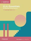 Books - New Clil Essentials For Secondary Schools Teachers | ISBN 9781108400848