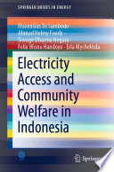 Electricity Access and Community Welfare in Indonesia