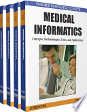 Medical Informatics Concepts Methodologies Tools And Applications