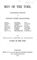 The Men of the Time     or  sketches of living notables  authors  architects  etc