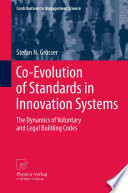Co Evolution of Standards in Innovation Systems
