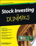 List of Dummies Stock Market E-book