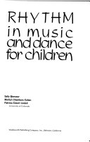 Rhythm In Music And Dance For Children Book PDF