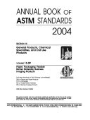 Annual Book of ASTM Standards