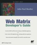 Web Matrix Developer s Guide