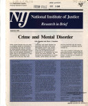 Crime And Mental Disorder