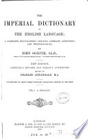 The Imperial dictionary  on the basis of Webster s English dictionary