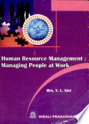 Human Resoure Management  Managing People at Work