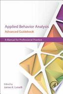 Applied Behavior Analysis Advanced Guidebook