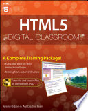 Cover of HTML5 Digital Classroom, (Book and Video Training)