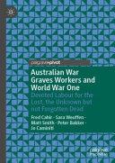 Australian War Graves Workers and World War One