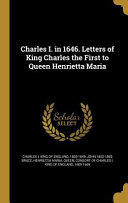 Charles I In 1646 Letters Of K