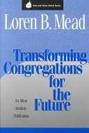 Transforming Congregations for the Future Book
