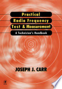 Practical Radio Frequency Test and Measurement Book