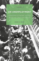 Pdf On Unemployment, Volume II Telecharger