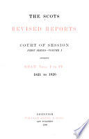 The Scots Revised Reports