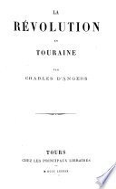 La Révolution en Touraine