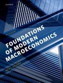 Foundations of Modern Macroeconomics Pdf/ePub eBook