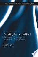 Rethinking Hobbes and Kant Book
