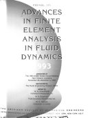 Advances in Finite Element Analysis in Fluid Dynamics