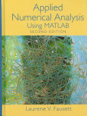 Cover of Applied Numerical Analysis Using MATLAB
