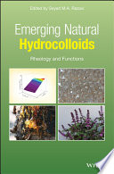 """""""Emerging Natural Hydrocolloids: Rheology and Functions"""" by Seyed M.A. Razavi"""