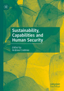Sustainability  Capabilities and Human Security