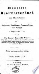 Biblisches Realwörterbuch: L