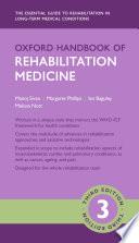 Oxford Handbook of Rehabilitation Medicine
