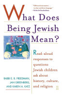 What Does Being Jewish Mean