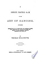 A Complete Practical Guide to the Art of Dancing Book