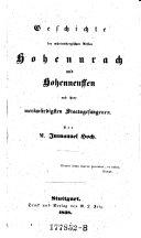 Geschichte der würtembergischen Vesten Hohenurach und Hohenneuffen und ihrer merkwürdigsten Staatsgefangenen