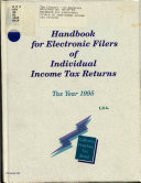 Handbook for Electronic Filers of Individual Income Tax Returns