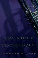 Trumpet Technique Pdf/ePub eBook
