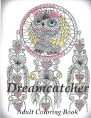 Dreamcatcher Coloring Book Adult Coloring Book For Relax