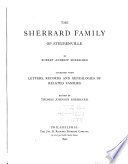 The Sherrard Family of Steubenville