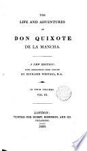 The Life and Adventures of Don Quixote de la Mancha 3