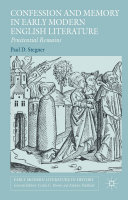 Confession and Memory in Early Modern English Literature Pdf/ePub eBook