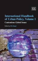 International Handbook of Urban Policy  Contentious global issues
